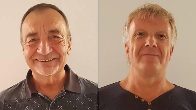 Zdeněk John (vlevo) a Pavel Šváček