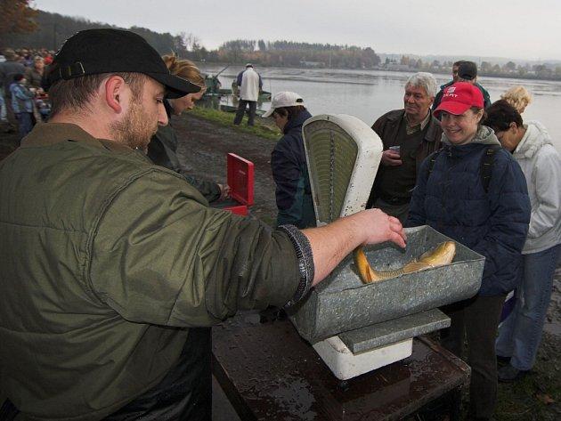 Rybářský svátek v Hustopečích nad Bečvou.