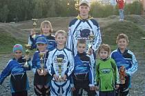Hraničtí bikrosaři ukončili sezonu posledními dvěma závody Moravské ligy ve Studénce.