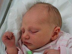 Linda Dittrichová, Hranice, narozena 27. července 2012 v Přerově, míra 47 cm, váha 2 940 g