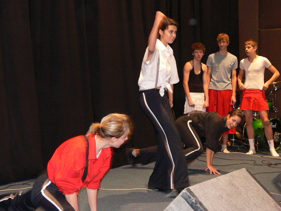 Tanec, hudba, zpěv a řada humorných scének, tak vypadal vánoční koncert hranického gymnázia.
