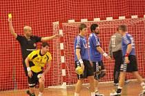 Muži hranického Cementu nastoupili k utkání v Plzni.