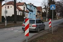 Retardér v hranické ulici Máchova