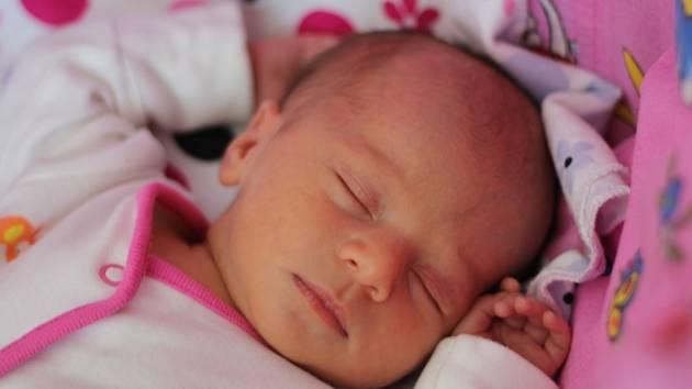 Kateřina Vrtělová, Kojetín, narozena dne 10. července 2013 v Přerově, míra 46cm, váha 2726 g
