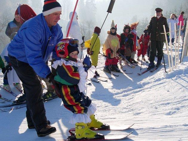 Karneval na lyžích na Potštátě
