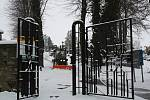 Sníh v Hranicích