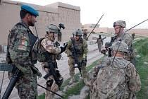 Prohledávací operace českých vojáků v Afghánistánu vedla k zatčení šesti povstalců