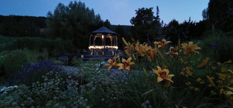 Zahrada na Staré střelnici vHranicích.