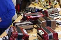 Výstava hudebních nástrojů v Jindřichově