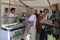 Některé z produktů oceněných značkou kvality Moravská brána regionální produkt lze zatím koupit pouze na farmářských trzích. Speciální prodejnu se zatím zřídit nepodařilo. Ilustrační foto