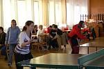 Turnaj hráli dospělí i děti.