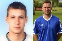 Bratři Patrik (vlevo) a Pavel Sencovici společně dostali červenou kartu.