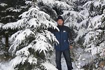 Správce lesa Erik Klumpar ze Stříteže nad Ludinou