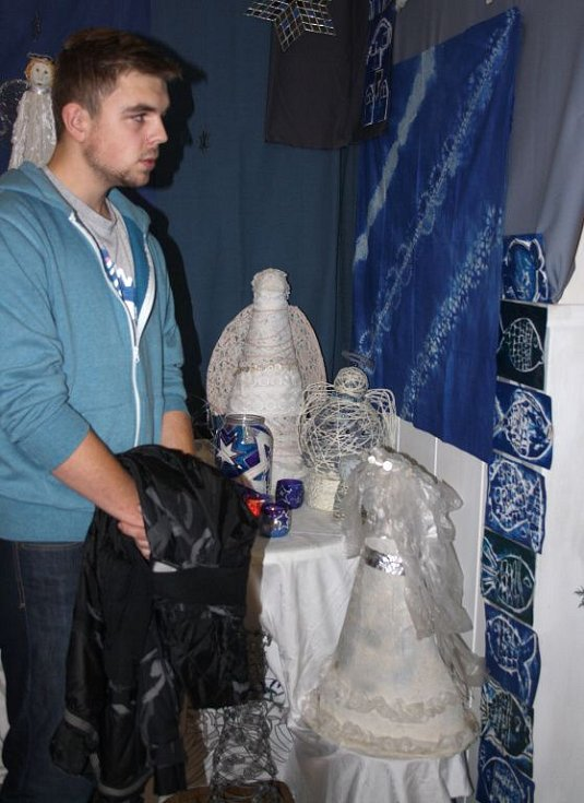 Zahájení výstavy betlémů v hranické Galerii M+M