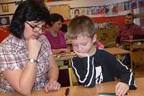 Děti si v Potštátě se zápisem do první třídy poradily na jedničku
