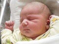 Jakub Janásek, Přerov, narozen dne 4. dubna 2013 v Přerově, míra: 52 cm, váha: 4 290 g