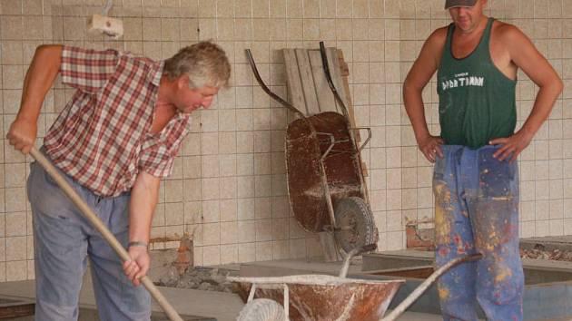 Rekonstrukce bazénu v Přerově