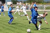 Hraničtí fotbalisté v posledních zápasech ztratili dobrou výkonnost z úvodních jarních zápasů.