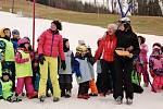 V Potštátě v neděli 4. února ukončili lyžařskou školičku