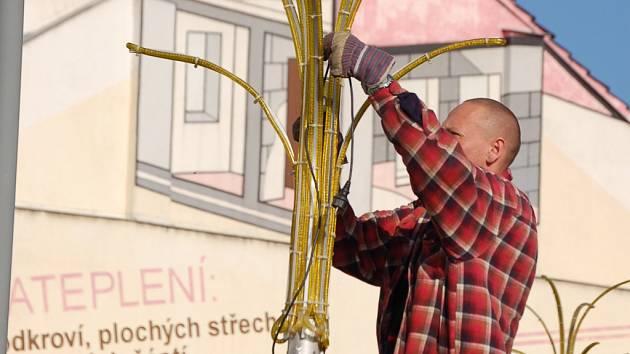Obyvatelé Přerova si už zvykli, že vánoční výzdoba se v jejich městě objevuje s předstihem.