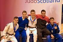 Judisté Železa Hranice přivezli ze Skotska tři medaile