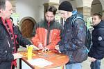 Den strojírenství ve středu  ve dvoraně hranického zámku.