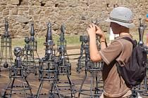 Září 2008. Rekordní šachové figurky na Helfštýně
