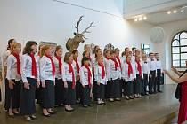 Sbor Cantabilka pěveckého sboru Cantabile.