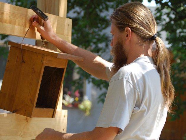 Ptačí zahrada bude součástí záchranné stanice pro zraněné živočichy.