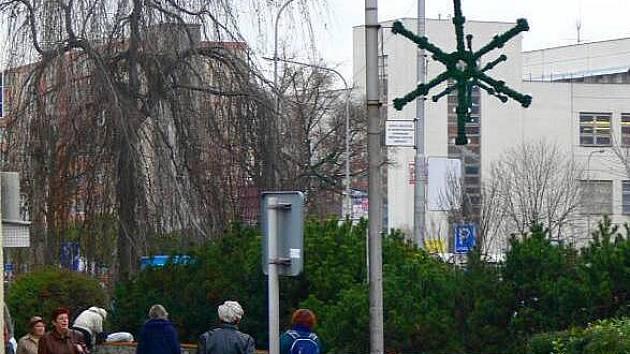 Vánoční zdobení Hranic