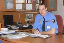 Velitel městské policie v Hranicích Miroslav Mann