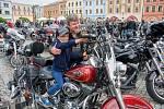 Po požehnání jezdcům a jejich strojům nechyběla spanilá jízda v rámci Motomše 2021.