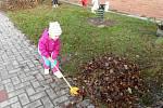 Podzimní práce v MŠ Pohádka