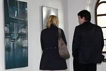 Malby a grafiky kroměřížského výtvarníka Jiřího Klabala mohou milovníci umění zhlédnout ve výstavní síni Synagoga