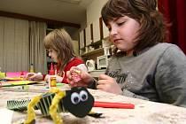 Hranický Domeček připravil pro děti program plný her a zábavy.
