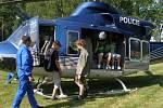 V bohatém programu nechyběly ani ukázky policejní, hasičské a vojenské techniky.