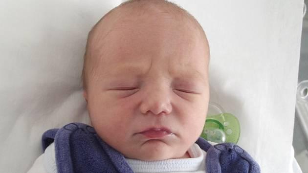 Jan Kučerka, Prosenice, narozen dne 26. května 2014 v Přerově, míra: 48 cm, váha: 2832 g