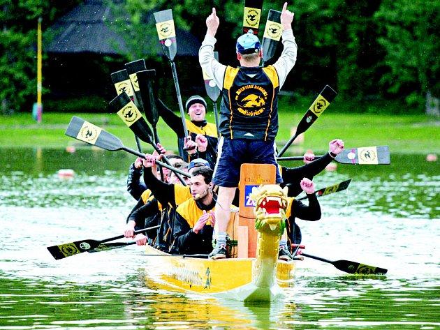 Třetí ročník Přerovského festivalu dračích lodí se uskuteční po oba víkendové dny na velké Laguně.