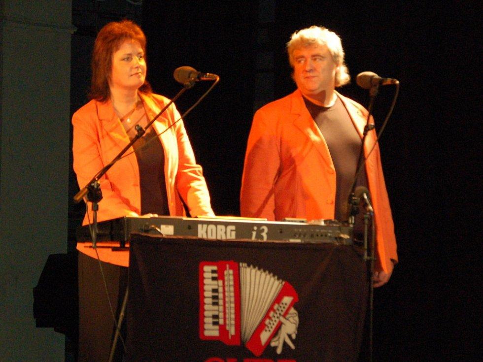 Eva a Vašek nastupovali na podium velice dobře naladěni.