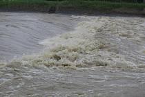 Povodně na Přerovsku.