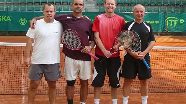 Finalisté: Klvač, Gajdoš, Krejčiřík a Pikna.