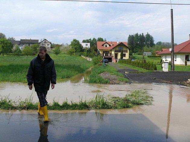 Blesková povodeň. Ilustrační foto