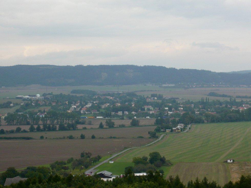 Výhled z Gabrielky.