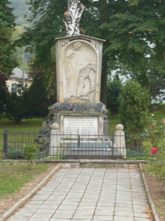 Pomník obětem první světové války.