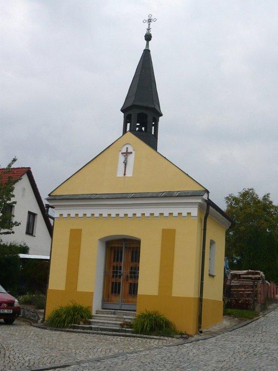Kaple na Zbrašově.