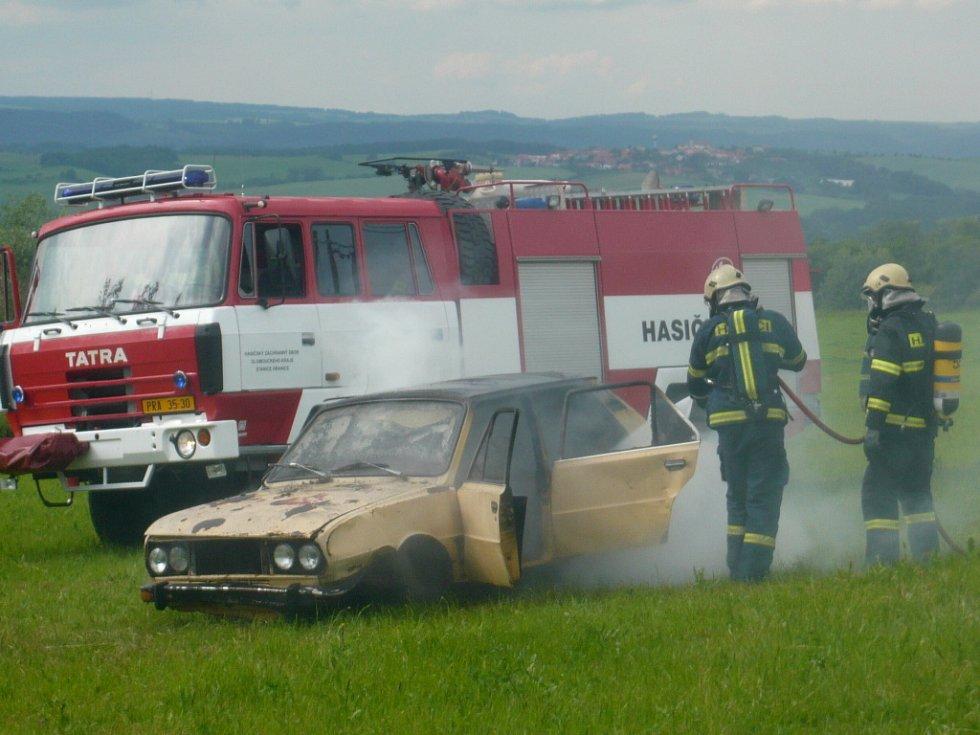 Bohatý víkend si užívali v Zámrskách, kde Sbor dobrovolných hasičů slavil 110. výročí svého založení.
