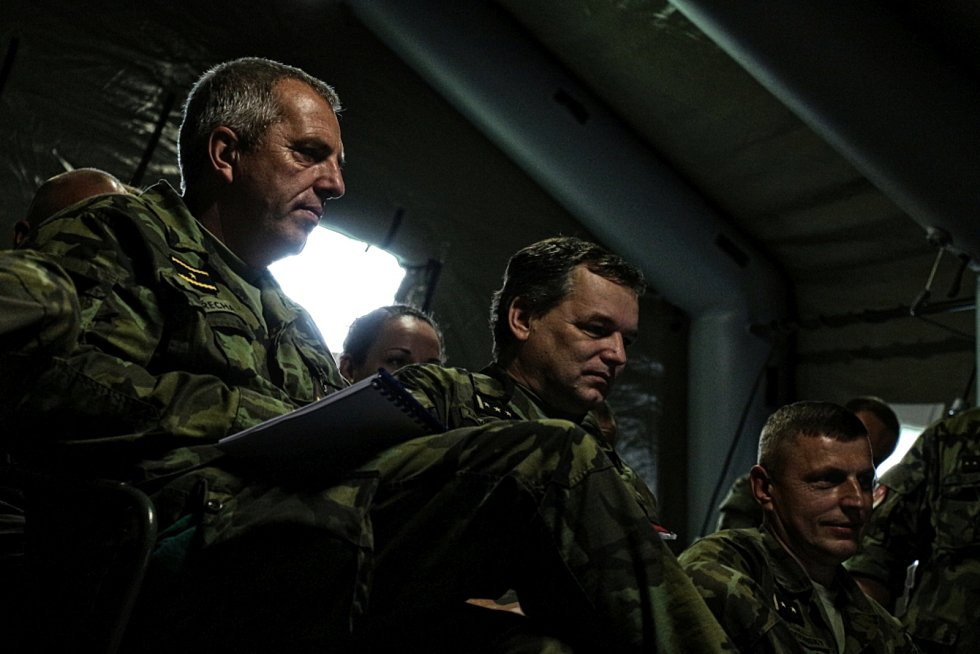 Hraničtí vojáci ze 7. mechanizované brigády se zúčastní cvičení Dukla Spirit 2017.
