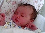Amálie Lonová, Radslavice, narozená dne 17. září 20116 v Přerově, míra: 50 cm, váha: 3630 g