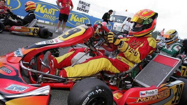 Tomáš Pivoda byl v Salbris nejrychlepší ve všech rozjížďkách, a to jel na této trati poprvé.