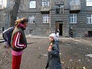 Romové ze Škodovy ulice v Přerově.
